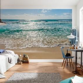 3d обои с изображением моря