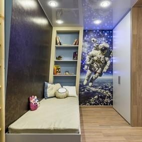 Маленькая детская зона в общей комнате