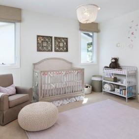 Светлая комната для мамы и доченьки