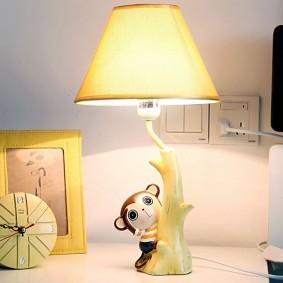 Настольная лампа в качестве ночника