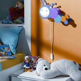 Настенный ночник для ребенка дошкольного возраста