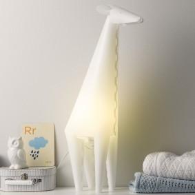 Напольный светильник для ночной подсветки