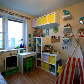Уголок школьника в детской комнате