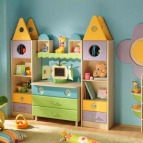 Компактная мебель для самых маленьких деток