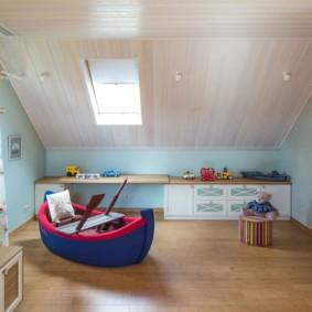 Спальная комната для маленького мальчика