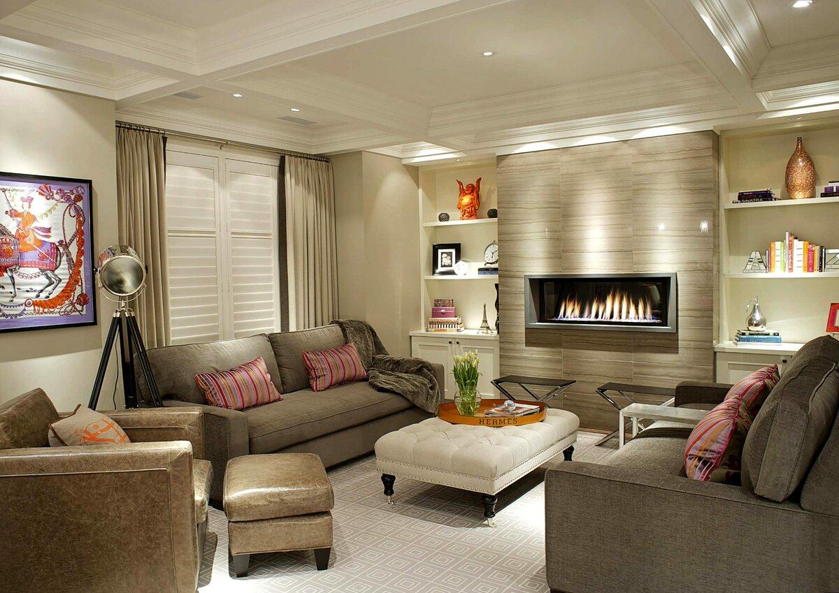 Дизайн квартир фото гостиная
