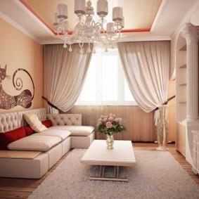 Мягкая мебель с каретной стяжкой