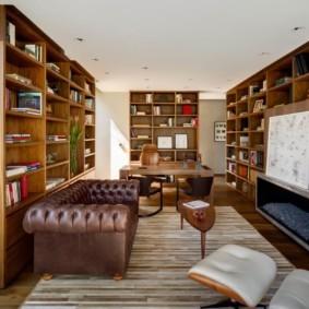 Хранение книг в домашней библиотеке