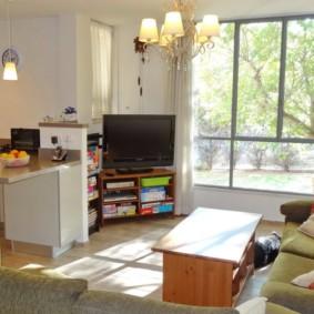 Советская мебель в однокомнатной квартире
