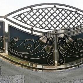 Кованные украшения с патинированным покрытием