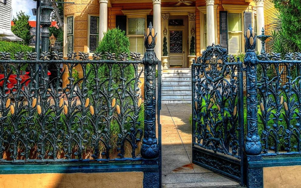 картинки красивых оград сети искренне