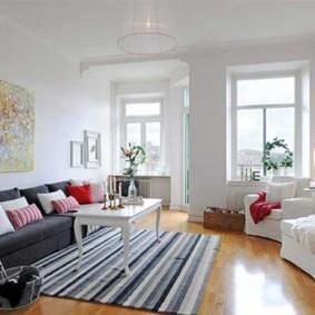 Скандинавский стиль в современной квартире