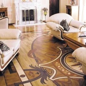 Мягкая мебель в стиле классики
