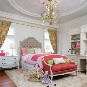 Уютная комната для девочки подростка