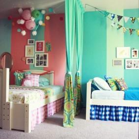 Ковровое покрытие в детской комнате