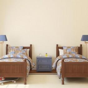 Детские кроватки из натурального дерева
