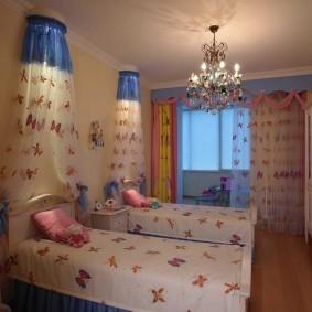 Красивые балдахина над кроватями девочек