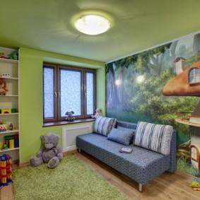 Стеллаж для хранения книжек и игрушек