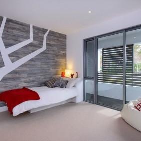 Интерьер детской спальни в стиле минимализма