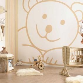 Просторная комната для маленькой дочки