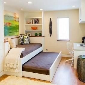 Спальное место для двоих детей
