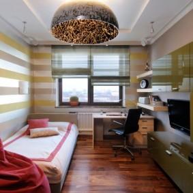 Модульная мебель с глянцевыми фасадами