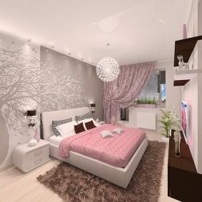 Дизайн спальной комнаты для девочки подросткового возраста
