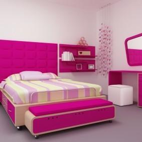 Современная мебель в детской спальне