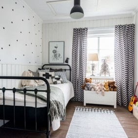 Стильный интерьер комнаты для девочки школьного возраста