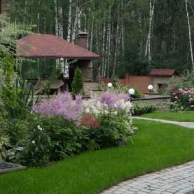 Садовый участок площадью около 20 соток