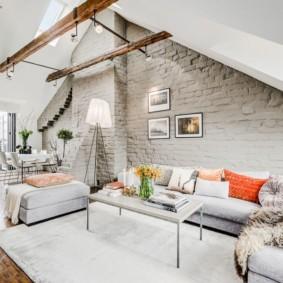 Скандинавский стиль в оформлении загородного жилища