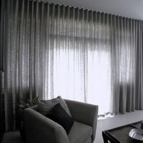 Декорирование окна в стиле хай-тек