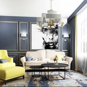 гостиная комната 2019 декор фото