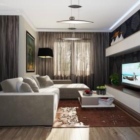 гостиная комната 2019 фото декор