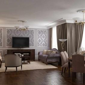 гостиная комната 2019 оформление фото