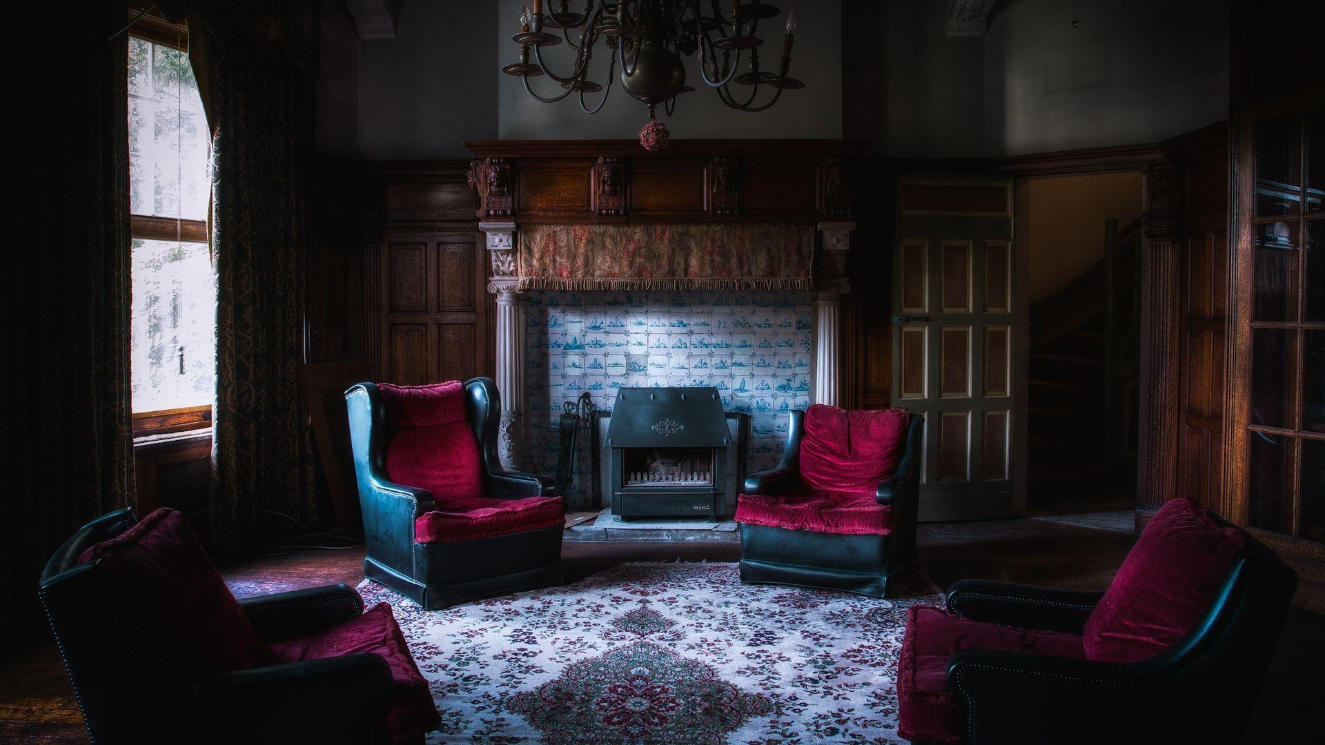 готическая гостиная