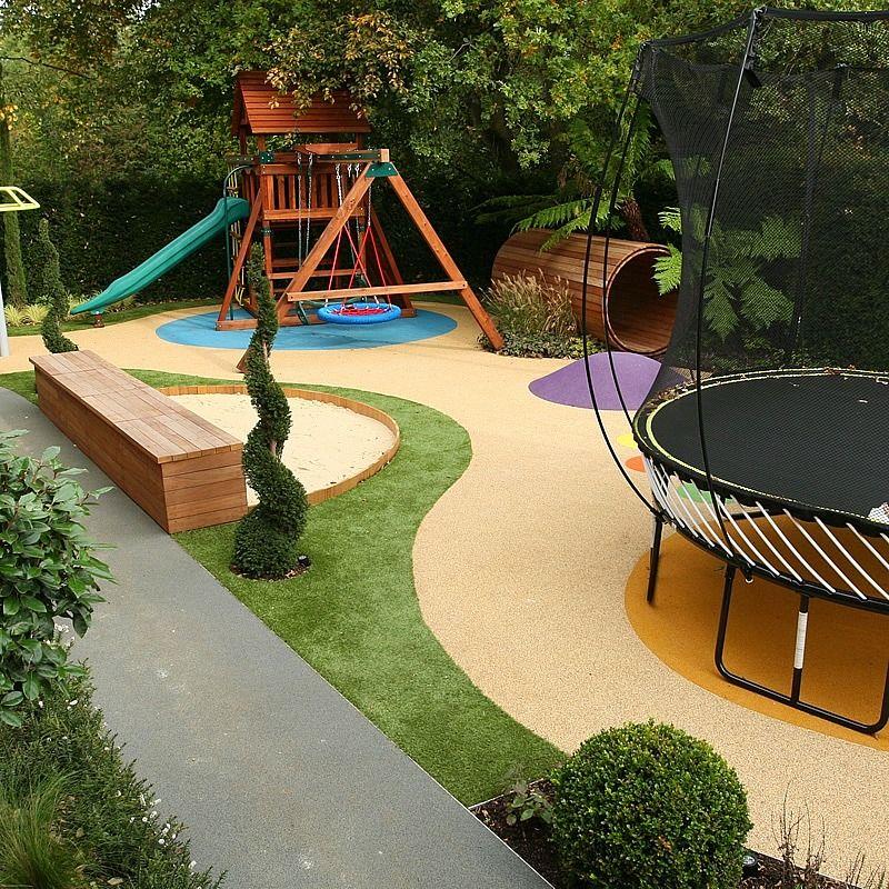 Игровая площадка на садовом участке