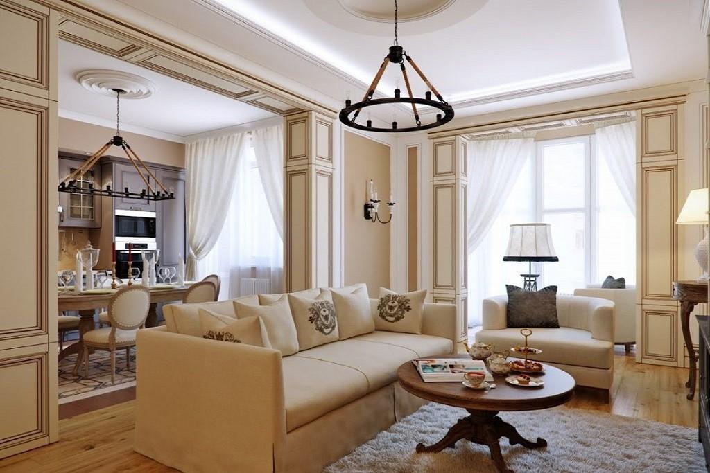 итальянская гостиная