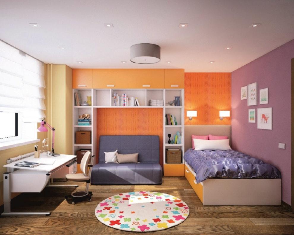Дизайн освещения в детской комнате