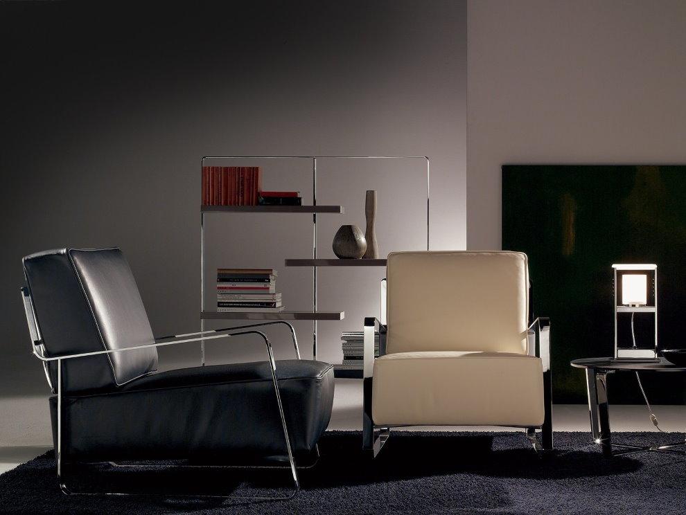 Мягкая мебель для интерьера в стиле хай тек