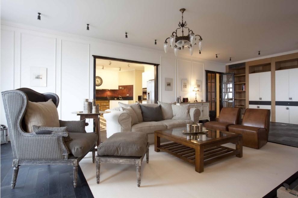 Обустройство зала в современной квартире