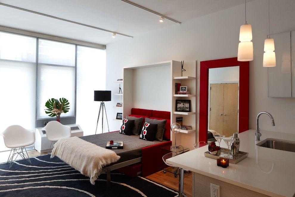 Однокомнатная квартира с мебелью-трансформером