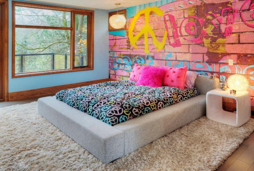 Детская комната в стиле поп арт