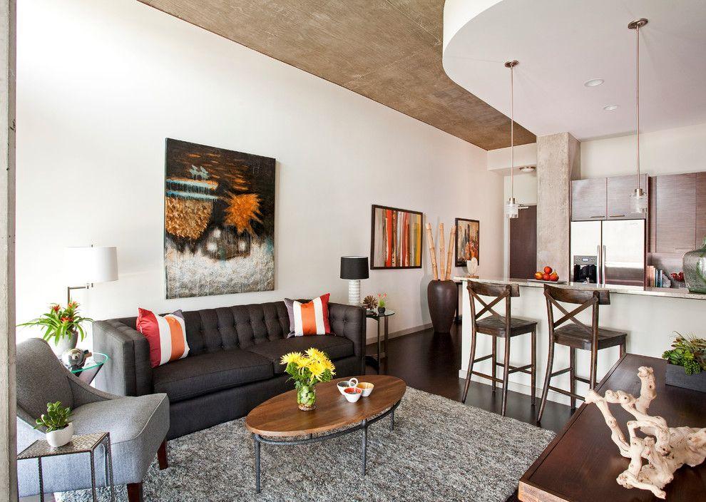 Кухня-студия в квартире панельного дома