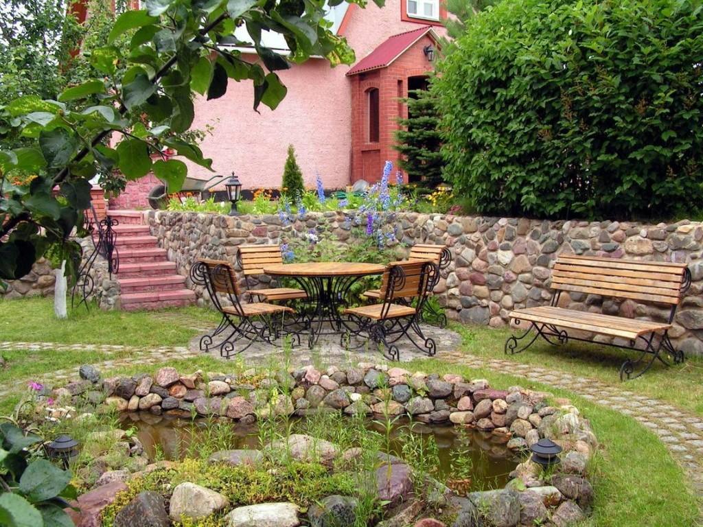 Садовая мебель на металлическом каркасе
