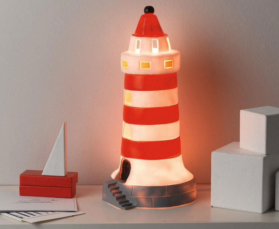 Ночник-маяк на детской тумбочек
