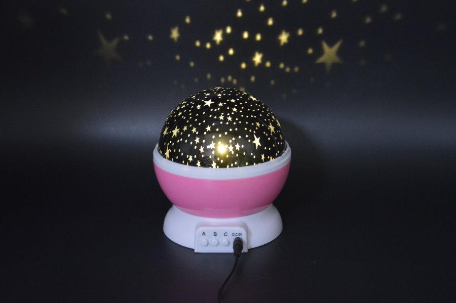 Проекционный ночник звездное небо