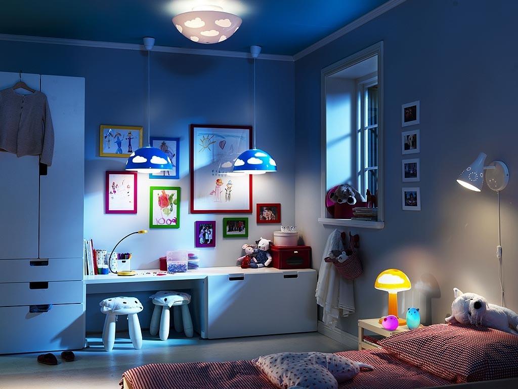 Ночное освещение в современной детской