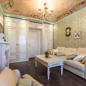 выбор стиля для классической гостиной