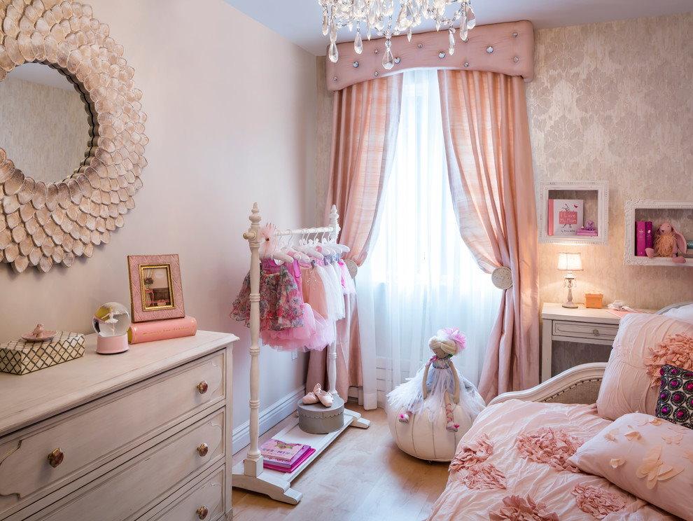 Интерьер детской комнаты для юной модницы